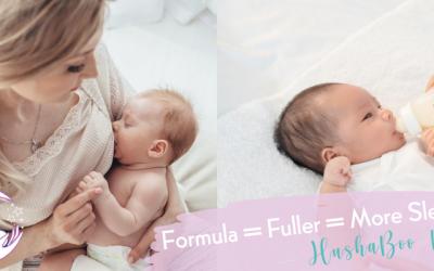 Formula = Fuller = More Sleep?